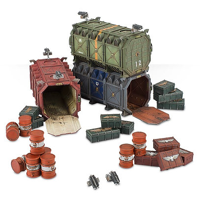 Sector Imperialis Manufactorum Armoured Containers