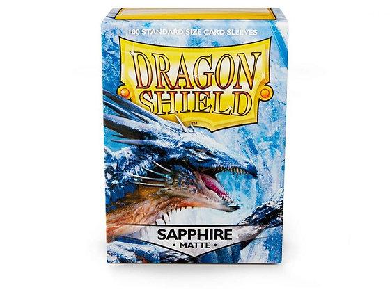 Dragon Shield Sapphire Matte