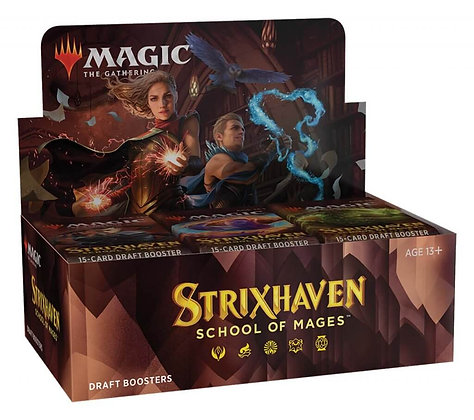 Magic The Gathering Strixhaven Boosters