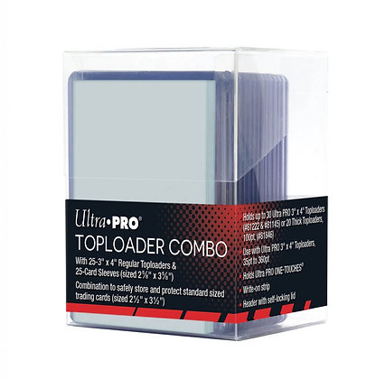 Ultra Pro Top loade/sleeve combo set x25
