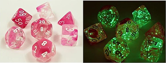 Chessex Polyhedral Dice Sets: Lab Dice