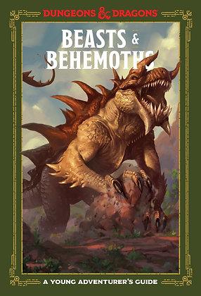 D&D Beasts and Behomoths A Young Adventurer's guide
