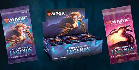 Pre-orders for Commander Legends
