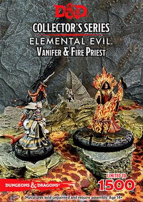 D&D Vanifer and Fire Priest