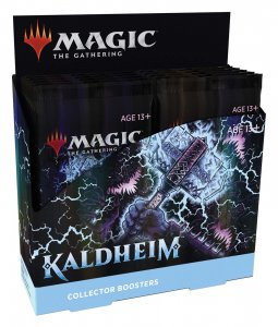 Magic The Gathering Kaldheim Collectors Boosters Box Pre order