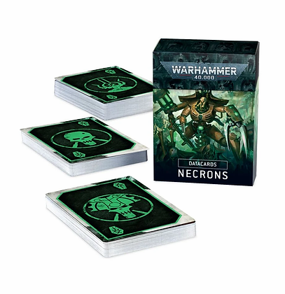 Necrons Data Cards