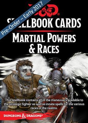 D&D Spell Book Cards: Martial Deck