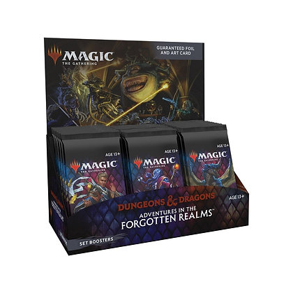 Magic the Gathering Adventures in the Forgotten Realms Set Booster Box