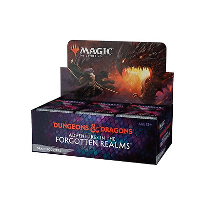 Magic the Gathering Adventures in the Forgotten Realms Draft Booster Box