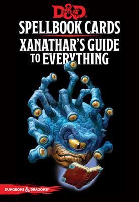 D&D Spell Book Cards: Xanathar's Guide Deck