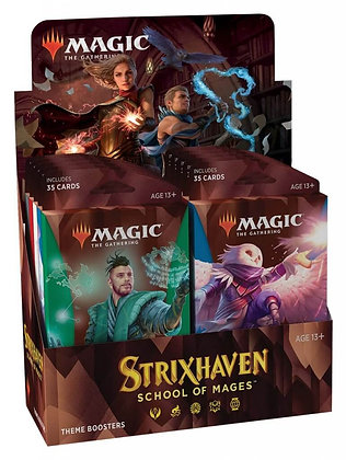 Magic The Gathering Strixhaven Theme Boosters
