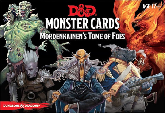 D&D Spell Book Cards: Mordenkainen's Tome of Foes