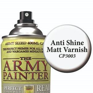 Army Painter  Anti Shine Varnish Spray Primer