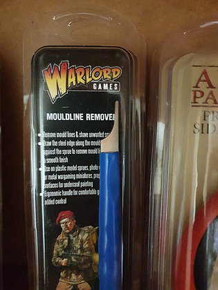 Warlord games mold line removal tool