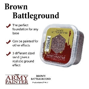 Army Painter Brown Battlefield Basing
