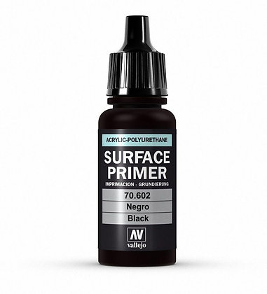 Vallejo Surface Primer Black - 17ml