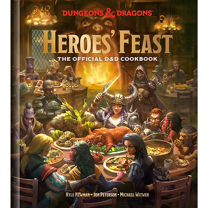 D&D Heroes Feast The official DnD cookbook