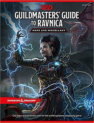 D&D Guildmaster's Guid to Ravnica Maps and Miscellany