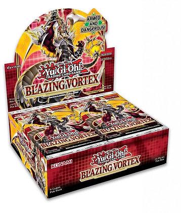 Yu Gi Oh Blazing Vortex 9 card Foil Booster