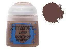 Citadel layer Gorthor Brown Brown