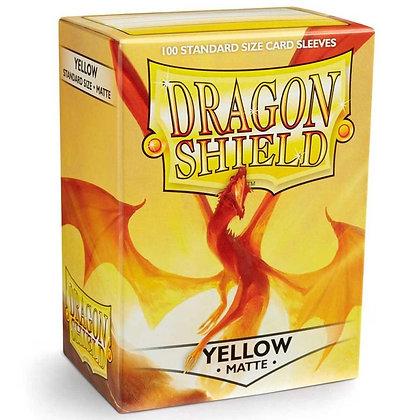 Dragon Shield Yellow Matte