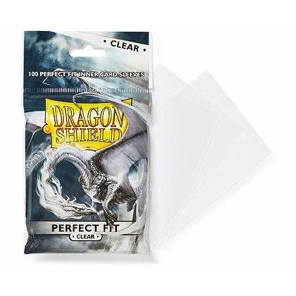 Dragon Shield Perfect Fit 100pk Clear