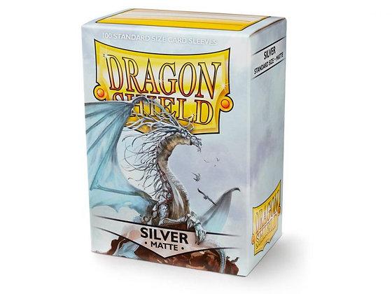 Dragon Shield Matte - Silver