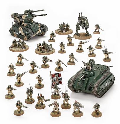 Astra Militarum Bastion Platoon
