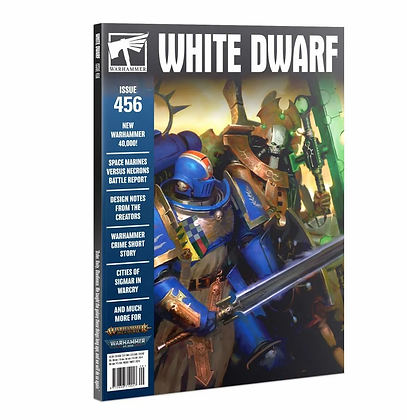 Old Issue White Dwarf Magazine