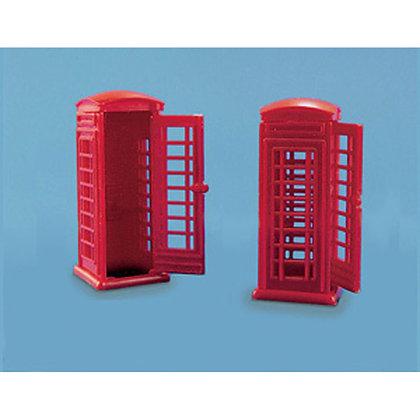 Model Scene Telephone Kiosks