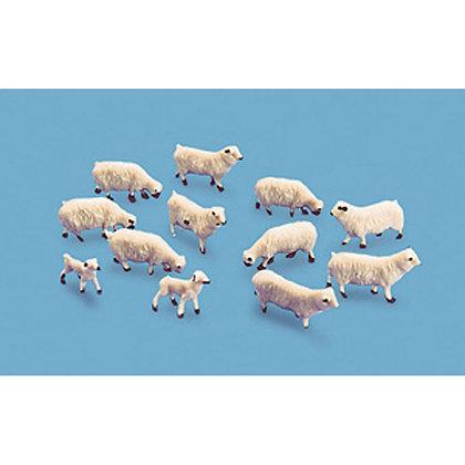 Model Scene Sheep and Lambs