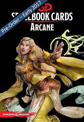 D&D Spell Book Cards: Arcane Deck
