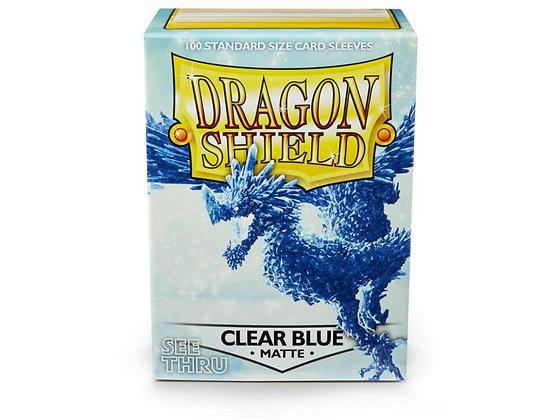 Dragon Shield Matte - Clear Blue