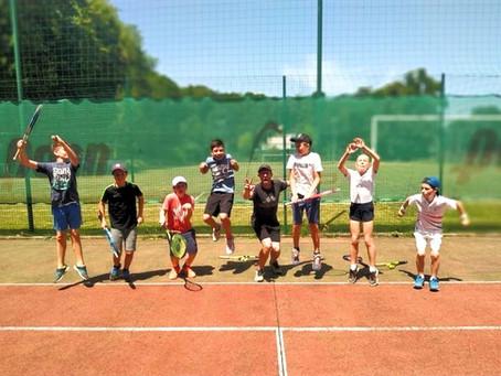 Ecole de tennis ce week-end de l'Ascension