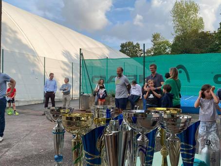 Photos de la remise des prix du Tournoi Jeunes 2021