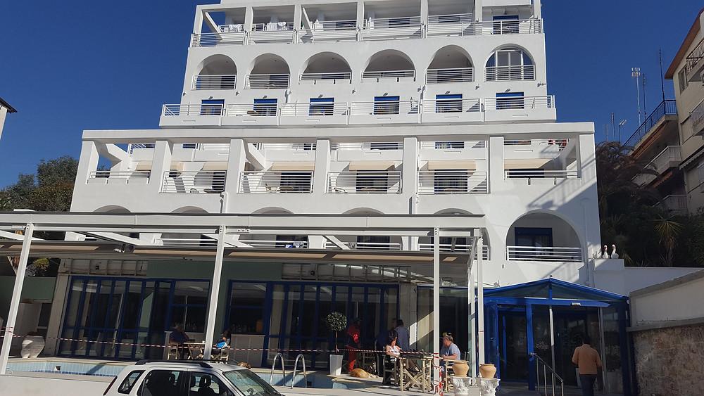белоснежный отель,OvLGroup,отдых в Греции,