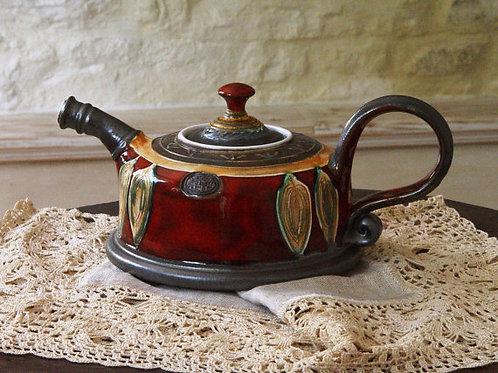 Чайник керамический ручной работы,сувенир,болгарский сувенир,болгарский сувенир,OvLGroup