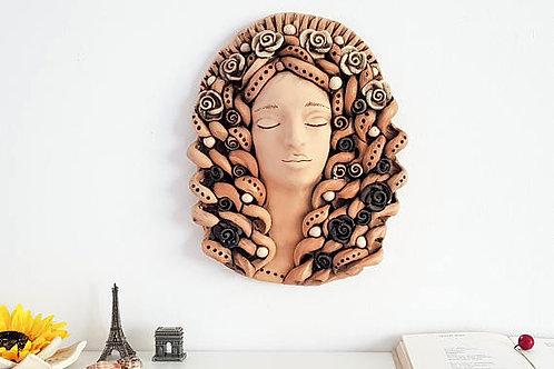 скульптура из глины,ручная работа, работа мастера, купить скульптуру,