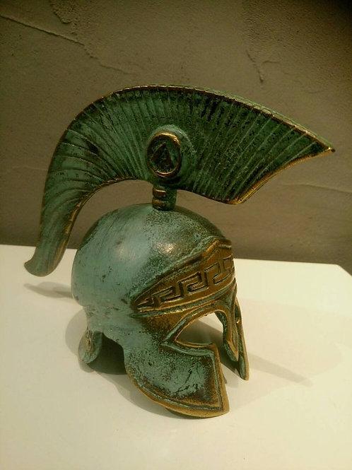 Шлем грека, подарок из бронзы, спартанец, шлем спартанца, OvLGroup,
