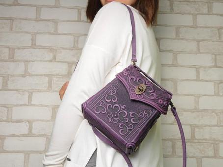 Необычные кожаные сумки ручной работы украинского мастера удивляют и восхищают