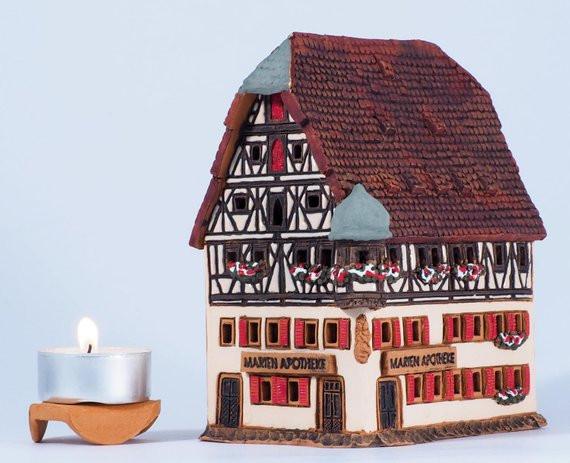 Керамический домик , ручная работа,OvLGroup,
