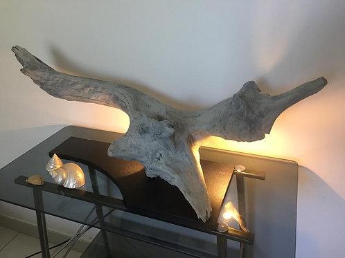 Интерьерный светильник из дерева | Ручная работа | Франция