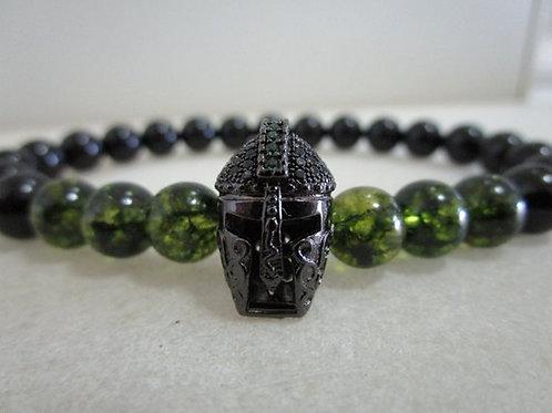 мужской браслет, купить в подарок браслет ручной работы, браслет из натурального камня,подарок,OvLGroup,