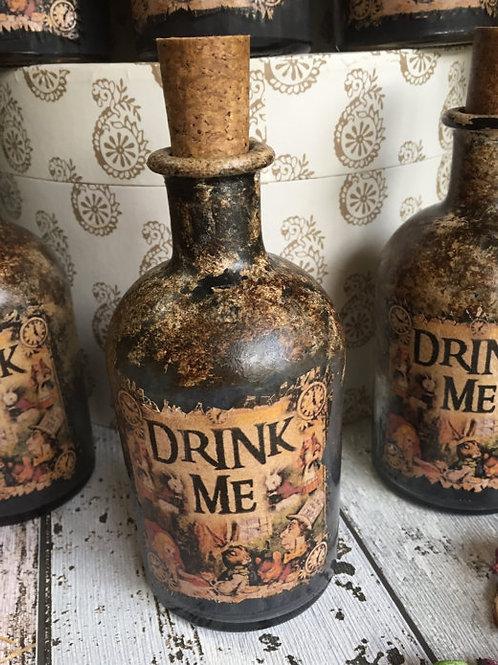 Интерьерная бутылка  |  Ручная работа | Англия.