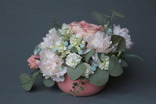 цветы, цветы в подарок, ручная работа, композиция ,