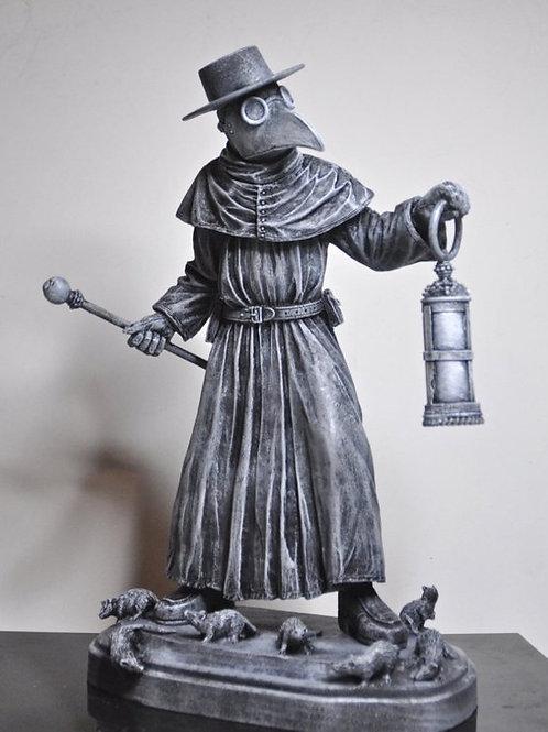 скульптура,OvLGroup, скульптура ручной работы, скульптура врач во время чумы,подарок,