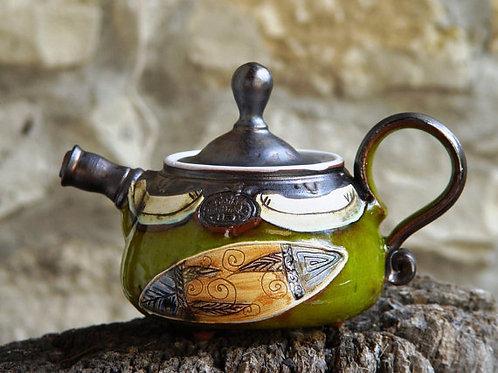керамика,керамический чайник,интерьерный чайник, сувениры из керамики,OvLGroup,