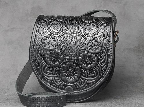 Женская кожаная сумка | Ручная работа | Украина