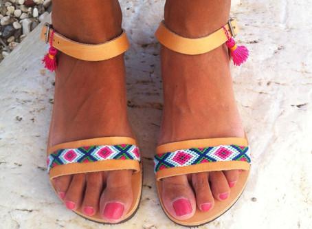 Какие выбрать женщине летние шлёпки, так чтобы это было красиво, качественно и удобно
