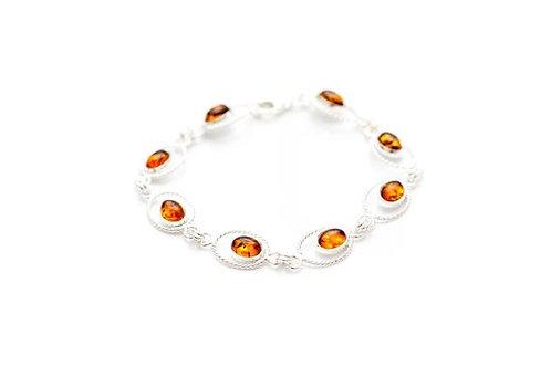 купить браслет с янтарём ручной работы, купить красивый браслет, женский браслет ручной работы, OvLGroup,
